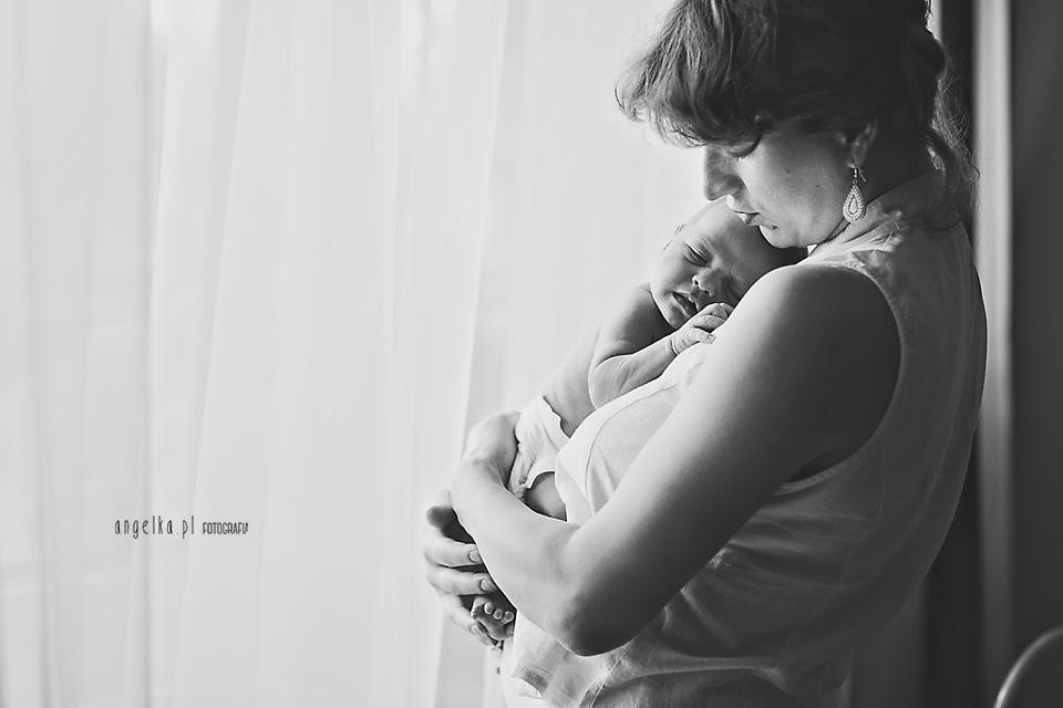 fotografia z noworodkiem