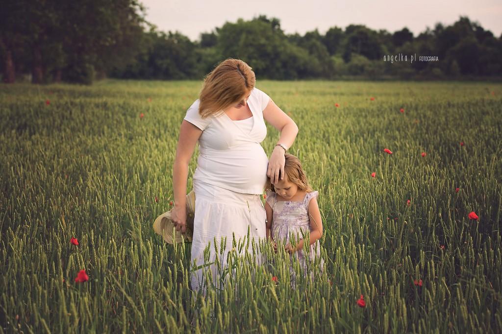 Kasia - sesja ciążowa - rodzinna