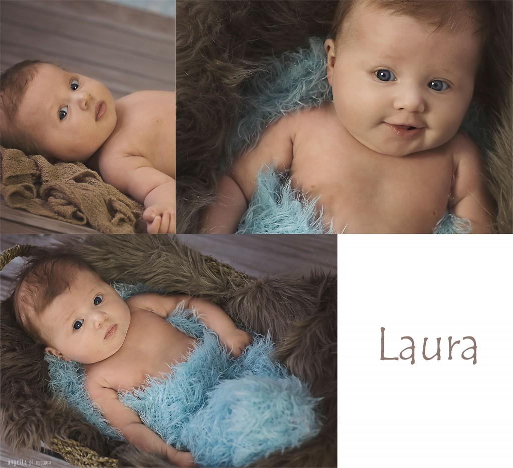 Laura sesja niemowlęca