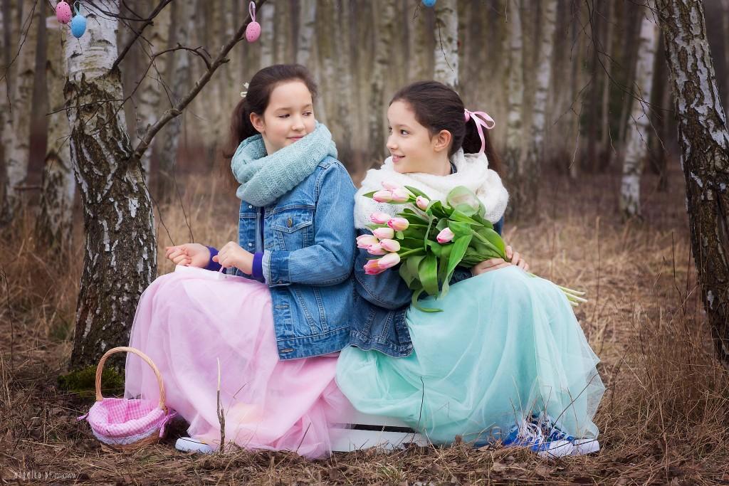 Lidka i Iza - pastelowe święta wielkanocne