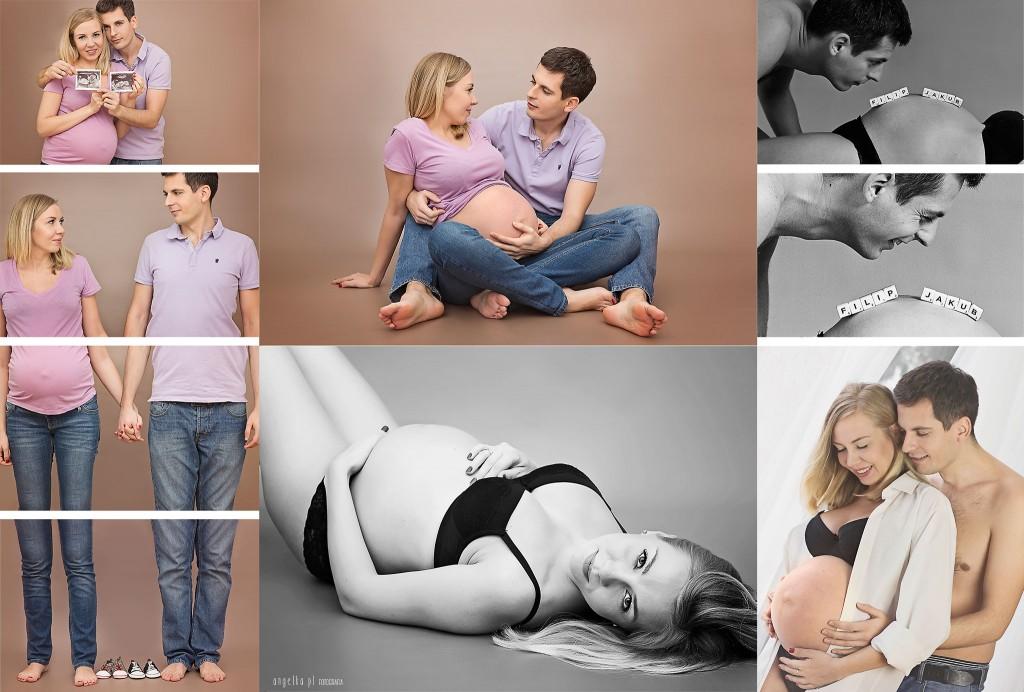 Ewelina i Marcin - rodzinna sesja ciążowa