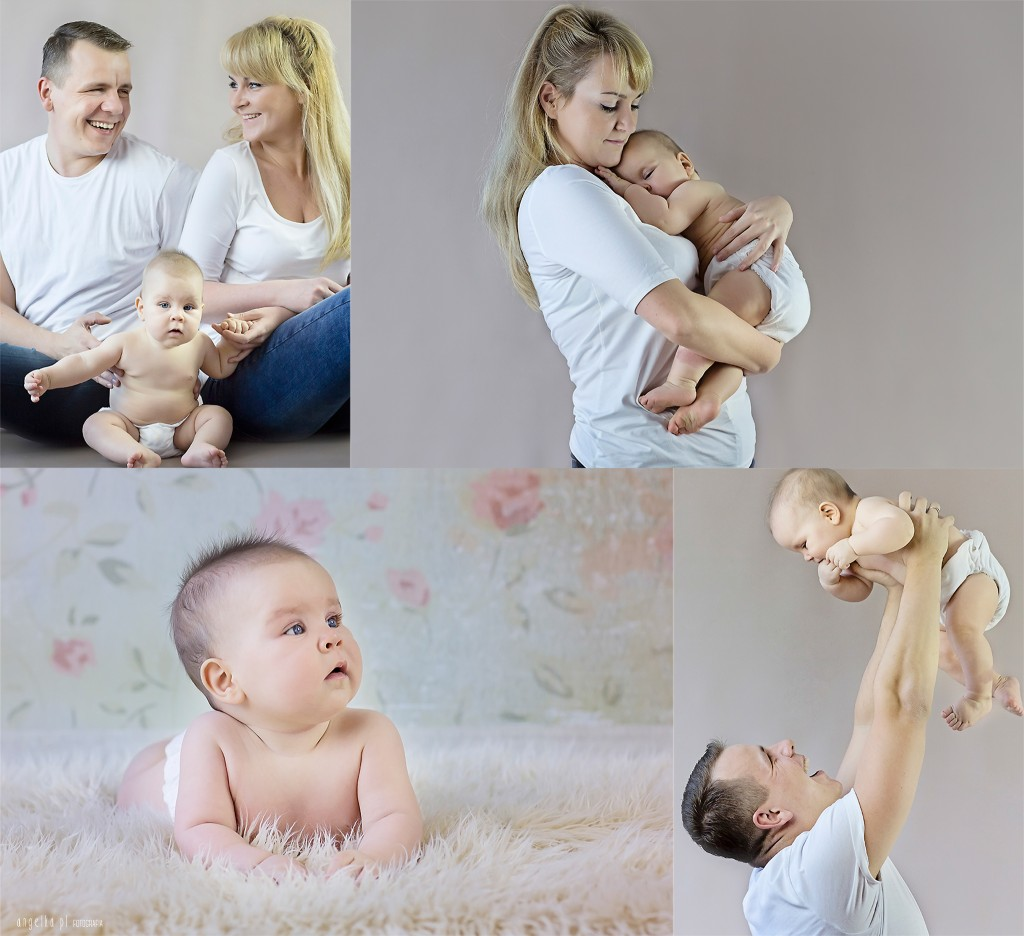 Pola z rodzicami
