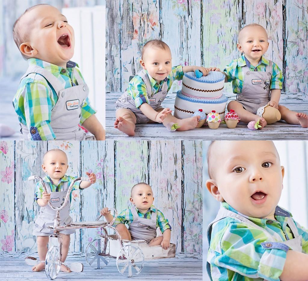 Staś i Leon - roczek bliźniaków