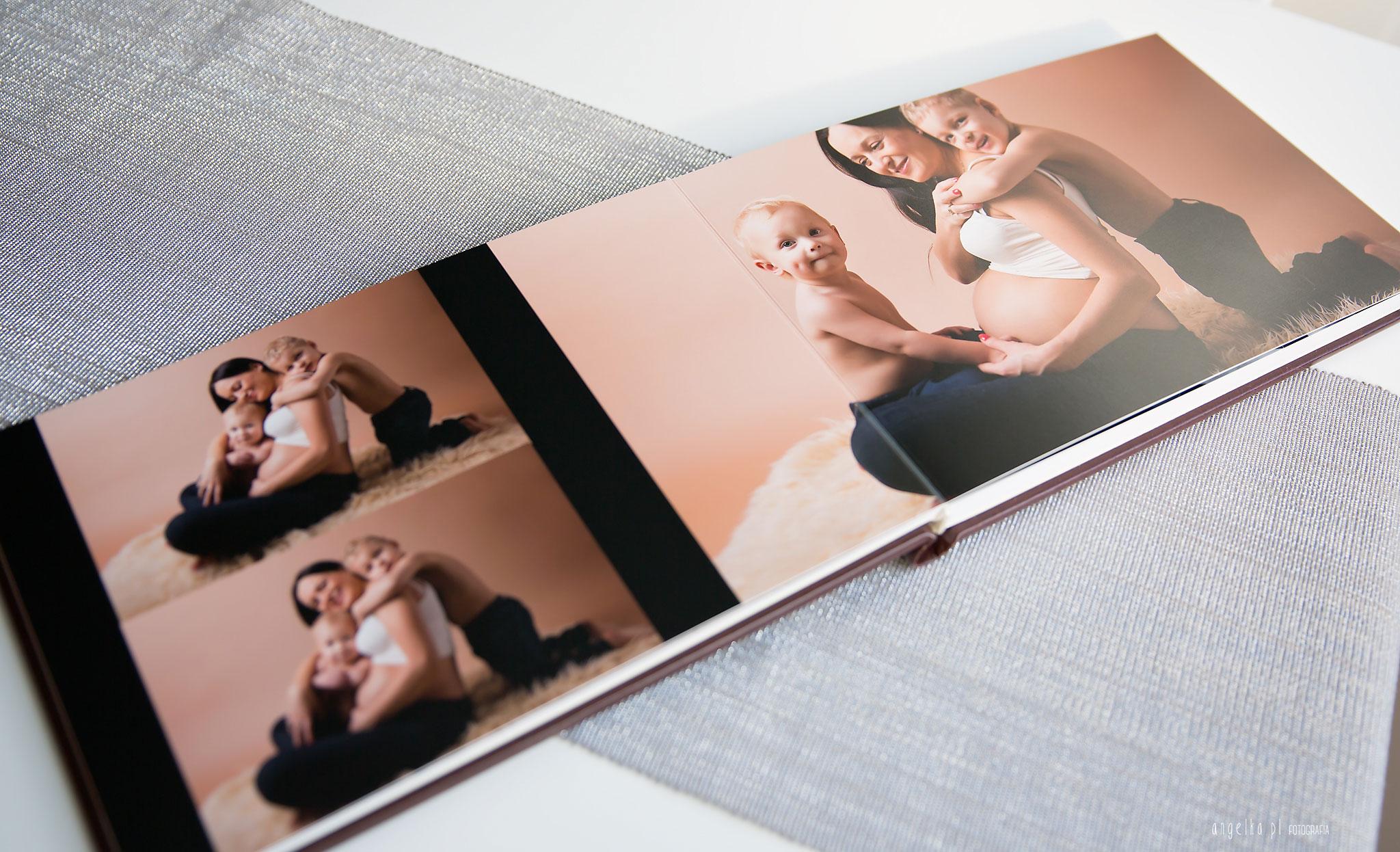 foto album ciążowy