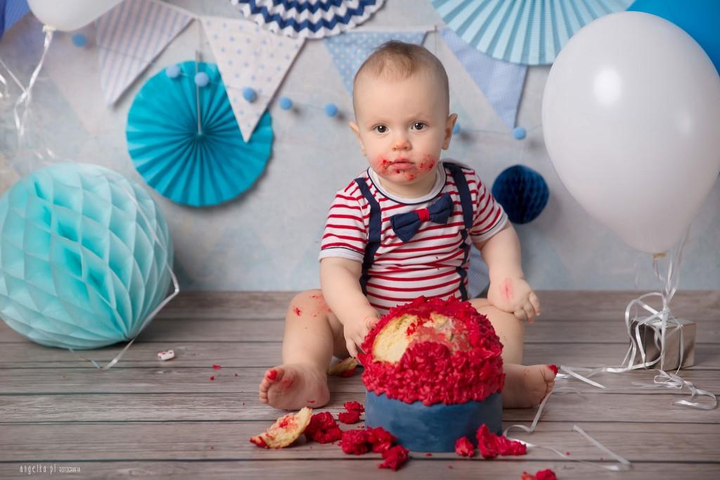 smash cake - Piotruś