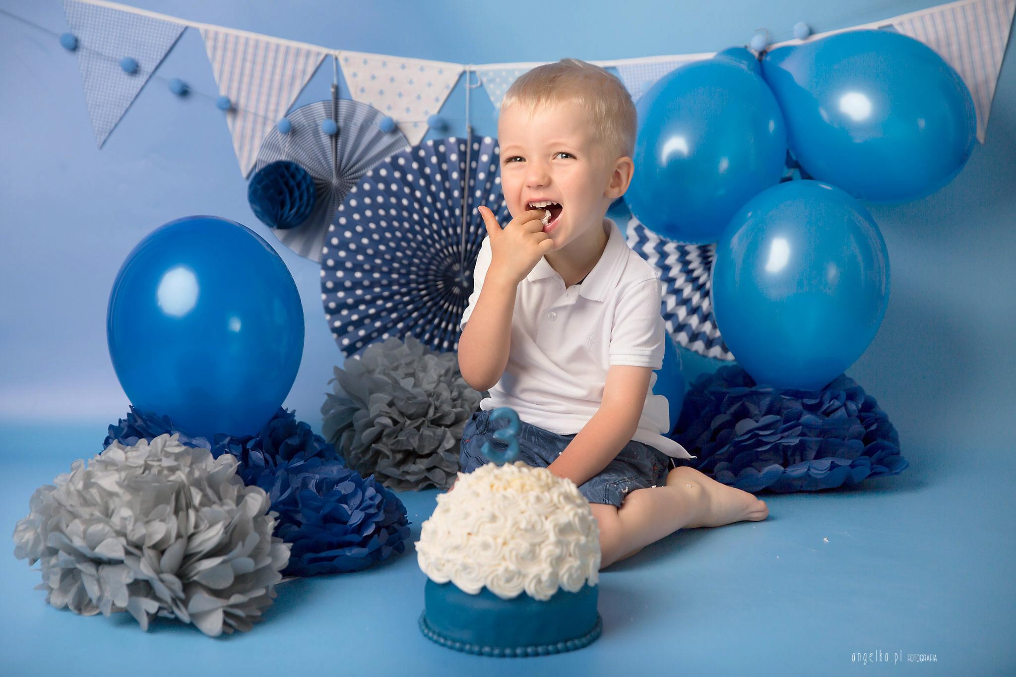 sesja z okazji 3 urodzin aleksandra
