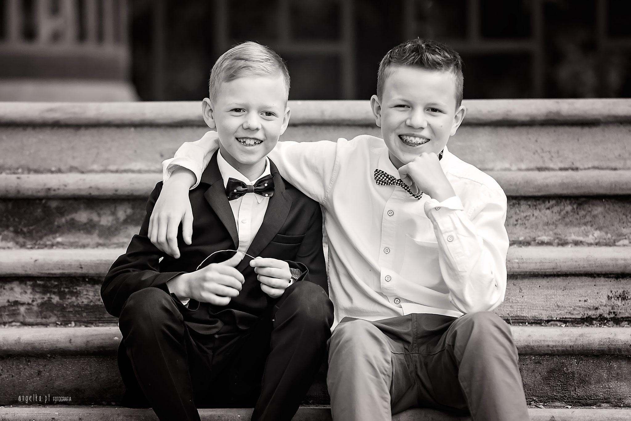 komunijne zdjęcie chłopców