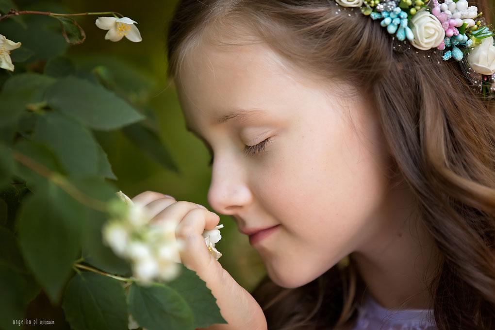 wachajac kwiatki