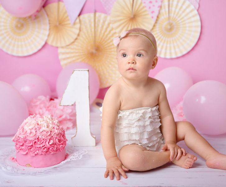 sesja urodzinowa dziecka