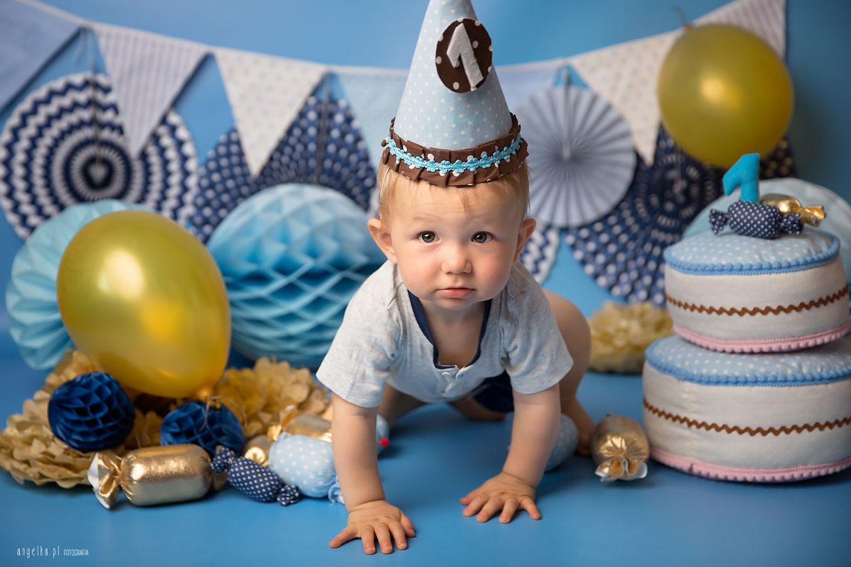 fotografia na urodziny dla chlopca
