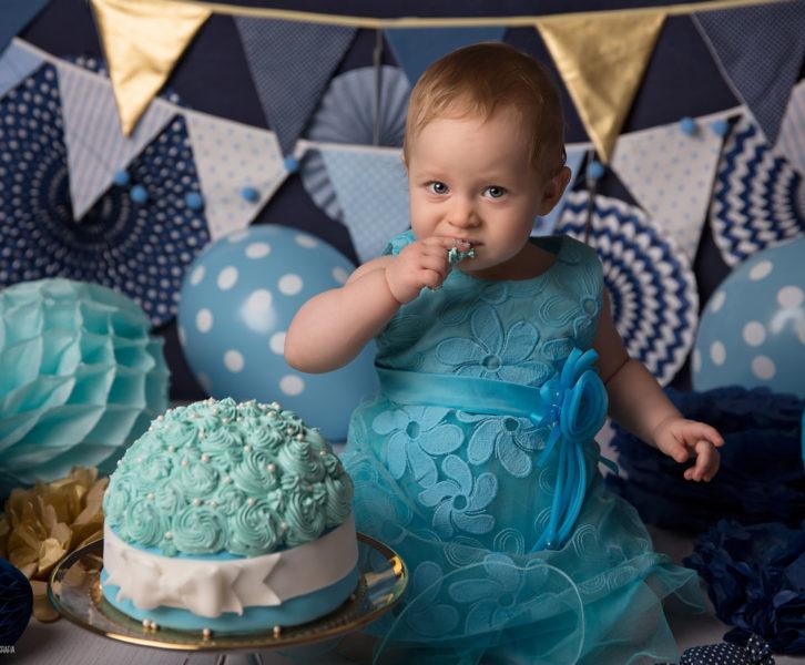 tortowa sesja na urodziny