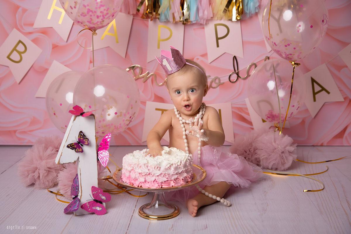 urodzinowa sesja zdjeciowa