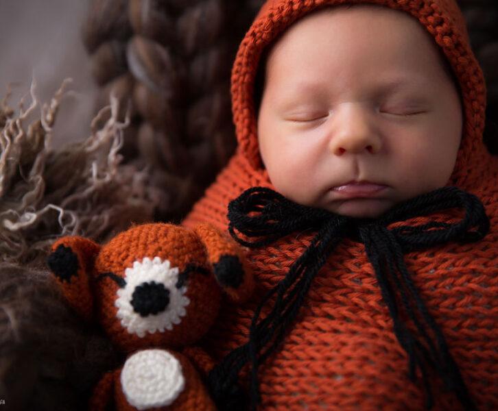 noworodek z liskiem